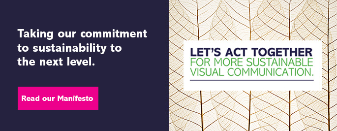 Visual Communication Sustainability Manifesto banner