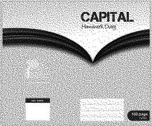 Capital Homework Diary